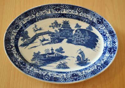 Dish or stand from the blue table