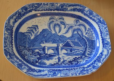 A Turner plate from the blue table